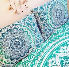 Psychedelic Star Mandala Cotton Pillow Cushion Cover Indian Bed Pillow Sham Case