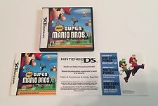 New Super Mario Bros Nintendo DS Case and Manual Only Zelda Tetris Metroid