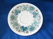 Royal Doulton Everglades TC 1083 SAUCERS -SET of THREE (3) *have more items*
