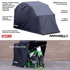 ARMADILLO LARGE COVER SHED FOLDING MOTORBIKE MOTORCYCLE BIKE GARAGE SHELTER TENT