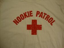 Vintage Nookie Patrol Lifeguard Sexy Safety Provocative T Shirt L