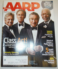 AARP Magazine Morgan Freeman Robert De Niro October/November 2013 122014R2