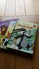 3 DISNEY BOOKS. THE JUNGLE BOOK, BAMBI, THE LION KING.