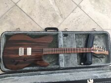 Michael Spalt Telecaster style boutique guitar - Spalted Mahogony GORGEOUS!