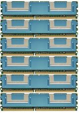 NOT FOR PC! 24GB 6x4GB PC2-5300 MEMORY ECC FB-DIMM HP Compaq ProLiant ML350 G5