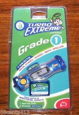Leap Frog: Turbo Extreme Game Cartridge Four Subjects Grade One Ages 6-7 **NEW**