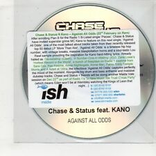 (GW599) Chase & Status Feat. Kano, Against All Odds - DJ CD