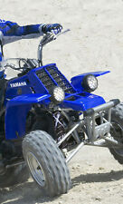 ATV,SHOCK COVER, PROTECTEUR D'AMORTISSEUR,VTT,YAMAHA,HONDA, XTEAM BLUE , SET 3
