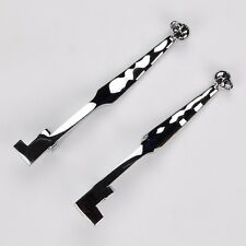 Chrome Skull Brake Clutch Levers For Kawasaki Vulcan 1500 1600 VN1500 VN1600