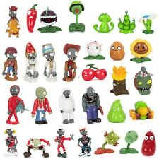 Hot Sale Lot of 30 PCS Different Plants vs Zombies Anime Action Figures PVZ