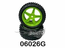 06026G RUOTE COMPLETE VERDI POST. BUGGY TIRE&RIM 2 PZ ESAGONO INT. 12MM HIMOTO