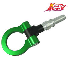 Green Racing Tow Towing Hook for Universal BMW European Car Auto Trailer Ring