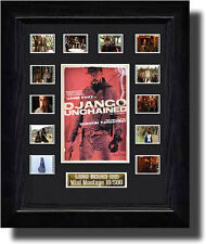 Django Unchained Montage filmcell  ,signed by quentin tarantino  fc2089b