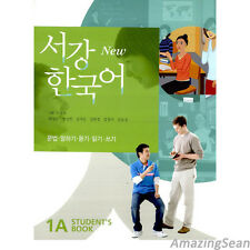 Sogang Korean 1A Student's Book With CD Korean Language Book Conversation BO49