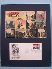 Terry and the Pirates comic strip and First Day Cover
