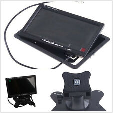 Rotatable 7 inch TFT LCD VCR Car Rear View Backup Parking Monitor Display Screen