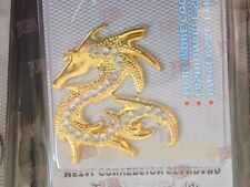 Car Sticker Golden Dragon Auto Badge Emblem for Nissan Honda Audi BMW Kia Toyota