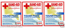 3 PACK Band-Aid Tough Pads 4 ct Hydrocolloid Adhesive 381371161485