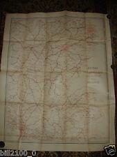 service géographique de l'armée.carte.réseaux télégraphiques / Est de la France