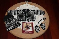 American Girl Doll Kirsten's RETIRED Winter Woolens Set, Pleasant Co. 1989! EUC!