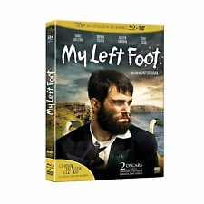 COMBO BLU-RAY + DVD MY LEFT FOOT EDITION REMASTERISEE  NEUF DIRECT EDITEUR