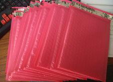 "20pcs Pink 6.5""X9"" Poly bubble Mailer envelopes padded Mailing Bag Self Sealing"