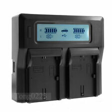 LCD Show Dual Battery Charger EN-EL15 for Nikon D7200 D7100 D7000 D810 D750 D610