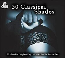 50 Classical Shades - BEETHOVEN - BACH - CHOPIN - 3 X CDs NEW