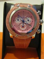 GLAM  ROCK MIAMI Collection Chronograph Date Watch GR10105p pink