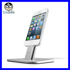 TWELVE SOUTH HiRise metal Desktop Stand/Dock, iPhone 6/6s, Plus, 7/7 Plus Silver