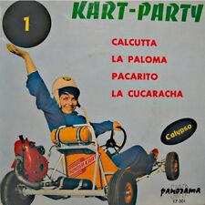 ++KART-PARTY 1 calcutta/la paloma/pacarito/cucaracha EP PANORAMA VG++