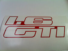 Peugeot 205 GTI 1.6 Decals Sticker Badges vinyl vinyls for side plastics