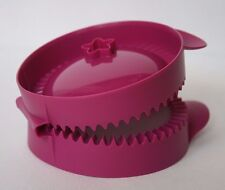 "Tupperware Easy Pie Press Maker for 4"" Full Circle Pies New"