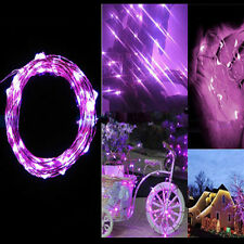 Hot 2M 20 LEDs Battery Operated Mini Lamps LED Copper Wire String Fairy Lights