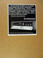 1971 Pioneer SX-9000 SX9000 Stereo Receiver vintage print Ad