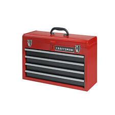 Craftsman 4 Drawer Portable Metal Box Steel Mechanic Tool Chest Toolbox 35424