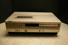 VINTAGE 'SEARS' BETA VCR MODEL:30163 - TESTED - FOR PARTS