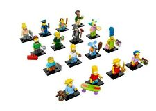 NEW LEGO 71005 Complete Set of 16 MINIFIGURES SERIES S - Simpsons