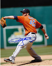 ANTHONY BASS  HOUSTON ASTROS   ACTION SIGNED 8x10