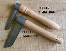 Ray Iles Small Froe - Spring Steel Cleaving Axe - Green Woodworking Chair Making