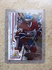 10-11 Panini Pinnacle NUFEX Rink Collection P.K. SUBBAN #218