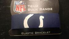 Indianapolis Colts Bulk Bandz Elastic Wrist Band Bracelet
