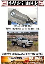 OUTBACK ACCESSORIES ROOF CONSOLES 4X4 TOYOTA HILUX SINGLE CAB CHASSIS UTES 05 ON