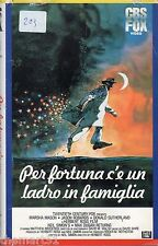 Per fortuna c'è un ladro in famiglia (1983) VHS Fox  Video  -  Herbert Ross
