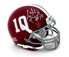 AJ McCarron Autographed/Signed Alabama Crimson Tide Schutt NCAA Mini Helmet