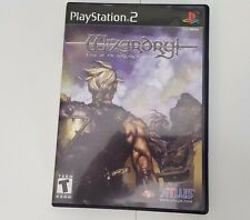 Wizardry: Tale of the Forsaken Land PS2 Game (Sony PlayStation 2, 2001) Complete