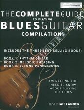The Complete Guide to Playing Blues Guitar Compilation LEARN TO PLAY Music Book