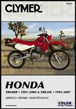 CLYMER SERVICE REPAIR MANUAL HONDA XR650L 1998 1999 2000 2001 2002 XR650 650L L