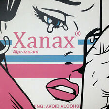 Xanax: Avoid Alcohol By Ben Frost  Edition of 10