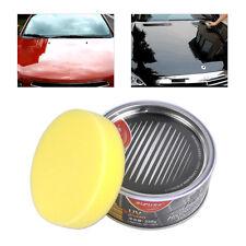 High Grade Car Solid Wax Waxing Ultra High Gloss Versatile Paint Cleaner +Sponge